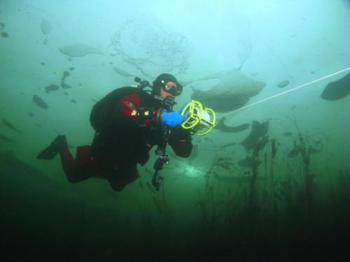 Kurz potápění pod ledem - Nautico Liberec