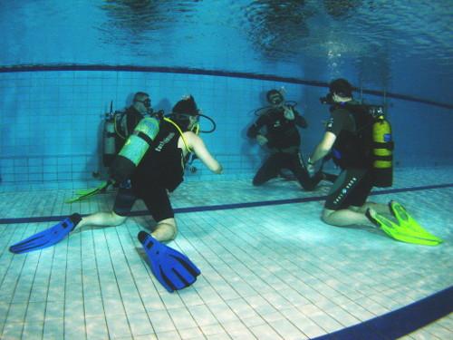 Základní kurz potápění - Nautico Liberec