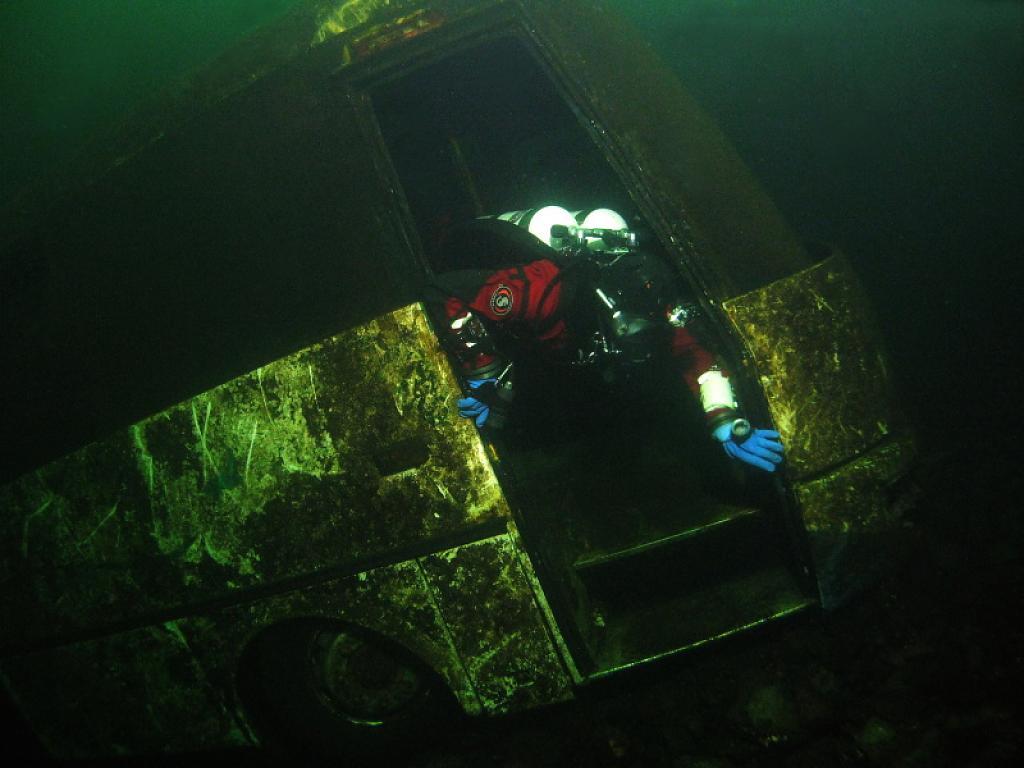 Předvánoční potápění na Rumchalpě