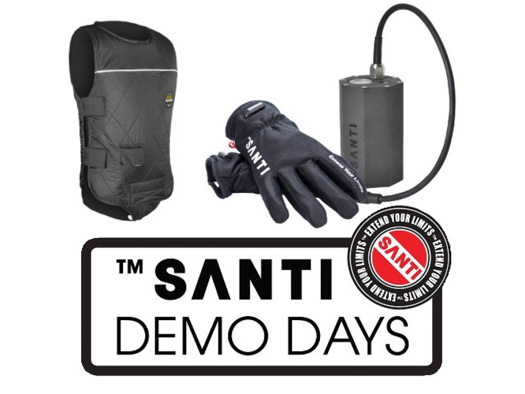 Santi Heating Demo Days