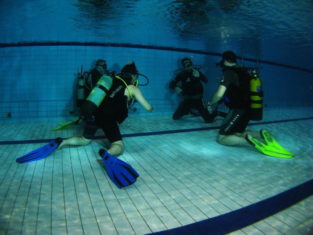 Poslední letošní kurz potápění OWD (začátečníci)