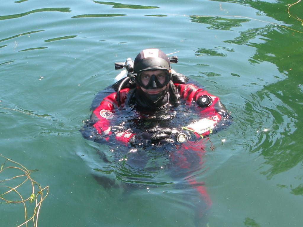 První letošní kurz potápění OWD