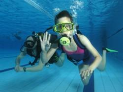 Fotogalerie - ochutnávka potápění