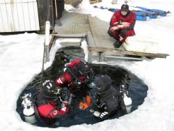 Fotogalerie - kurz ICE Diver