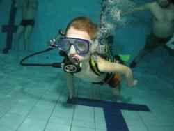 Fotogalerie - děti v bazénu Hrádek