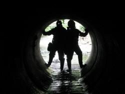 Fotogalerie - pátračka v podzemí