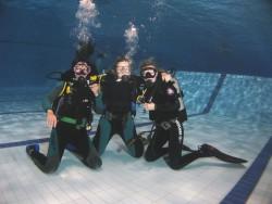 Fotogalerie - ochutnávka v bazénu